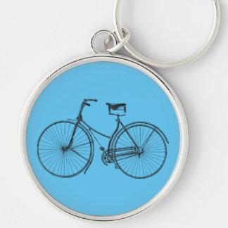 Old Bicycle Key Ring