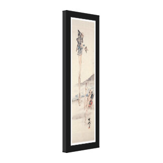 Old Bizarre Japanese Painting Canvas Prints