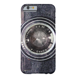 Old black camera barely there iPhone 6 case