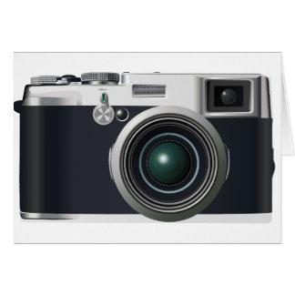 Old black camera card