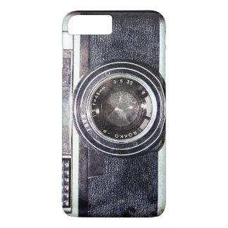 Old black camera iPhone 8 plus/7 plus case