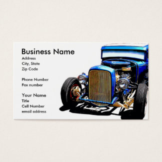 Old Blue II Business Card