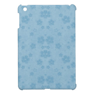 Old blue paper flowers iPad mini covers