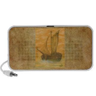 Old Boat Laptop Speakers