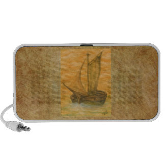 Old Boat Travelling Speaker