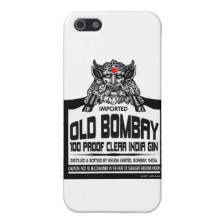 Old Bombay Gin Case For iPhone 5/5S