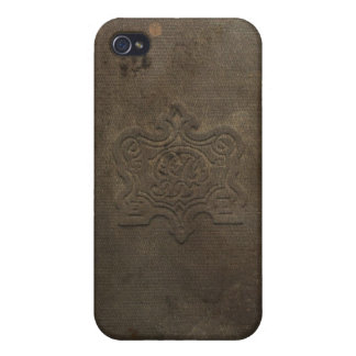 Old book cover / vintage book / classic worn look iPhone 4 cases