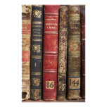 Old Book Personalized Stationery