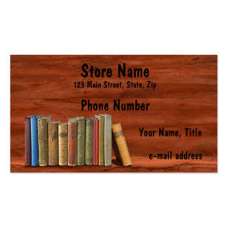 Old Books Business Card Templates