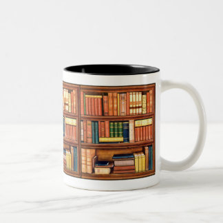 Old Books Library Bookworm Mug