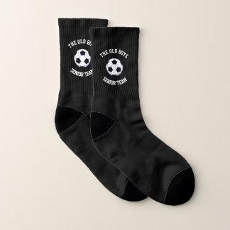 Old Boys Senior Team Small All-Over-Print Socks