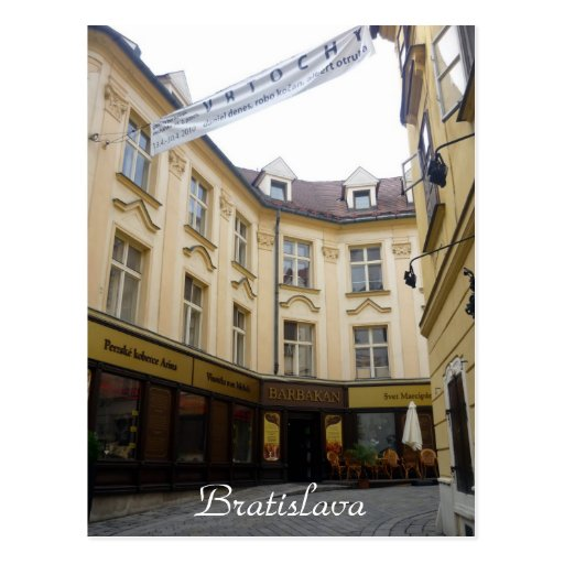 old bratislava postcards