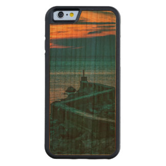 Old Breakwater, Montevideo, Uruguay Carved Cherry iPhone 6 Bumper Case
