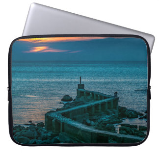 Old Breakwater, Montevideo, Uruguay Laptop Sleeve
