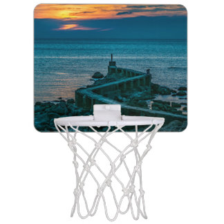 Old Breakwater, Montevideo, Uruguay Mini Basketball Hoop