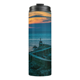 Old Breakwater, Montevideo, Uruguay Thermal Tumbler