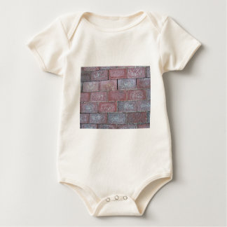 Old Brick Pavement Background Bodysuits