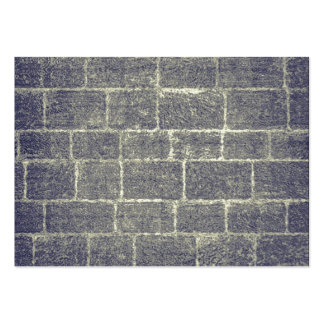 Old Brick Stone Design Nonsymmetric Stone Wall Business Card