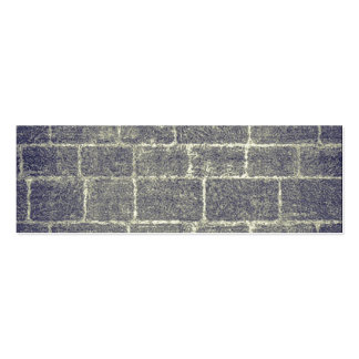 Old Brick Stone Design. Nonsymmetric Stone Wall Pack Of Skinny Business Cards