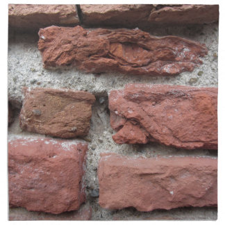 Old brick wall background napkin