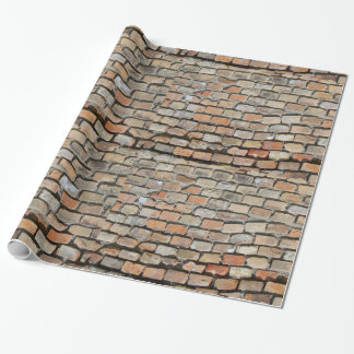 Old Brick Walling Wrapping Paper