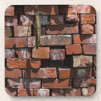 Old Bricks Abstract Coaster