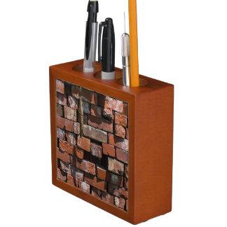 Old Bricks Abstract Desk Organiser