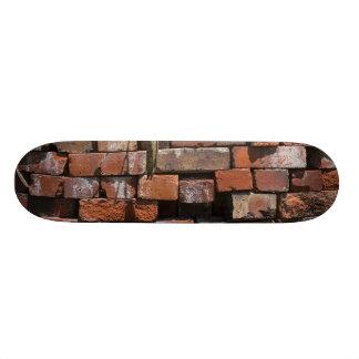 Old Bricks Abstract Skateboard Deck