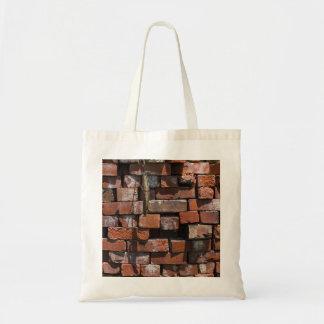 Old Bricks Abstract Tote Bag