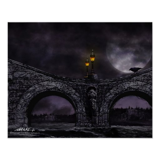 """Old Bridge"" 16x20 print"