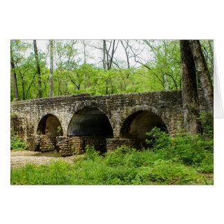 Old Bridge at Cuivre River Card