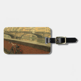Old bridge in Florence, Italy Luggage Tag