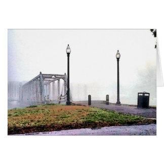Old Bridge on Bayou St John Card