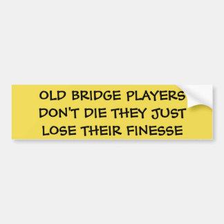 OLD BRIDGE PLAYERS DON'T DIE - BUMPER STICKER