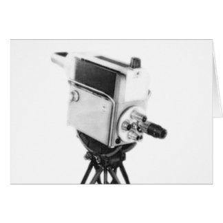 Old Broadcast TV Camera TK Greeting Card