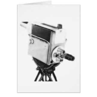 Old Broadcast TV Camera TK Greeting Card