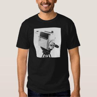 Old Broadcast TV Camera TK Tshirts