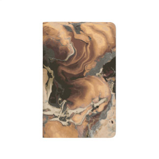 Old Brown Marble texture Liquid paint art Journal