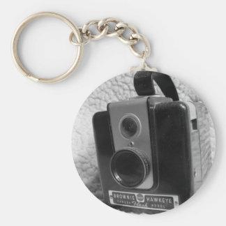 Old Brownie Hawkeye Camera Key Ring