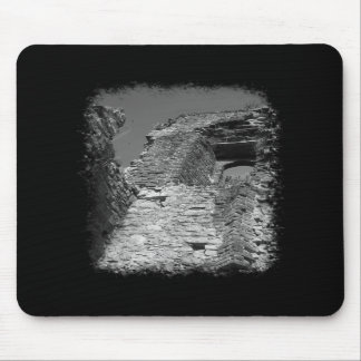 Old building. Stone Walls with Window. Mouse Pad
