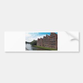 old buildings bumper sticker