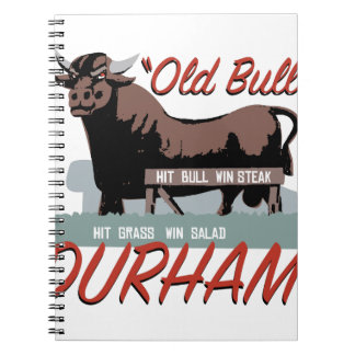 Old Bull Durham Notebook