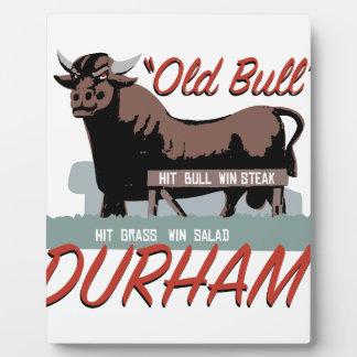 Old Bull Durham Plaque