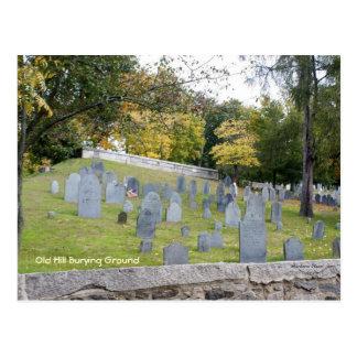 Old Burying Ground Postcard