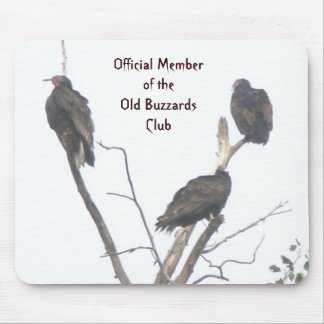 Old Buzzards Club Mousepad