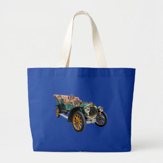 Old Cabriolet Large Tote Bag