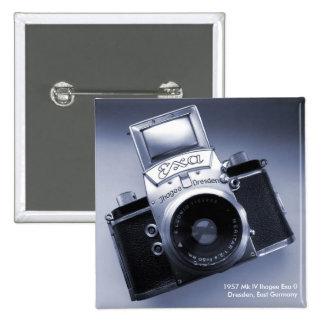 Old Camera (1957 Mk IV Ihagee Exa 0) 15 Cm Square Badge