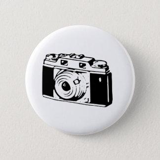Old Camera 6 Cm Round Badge