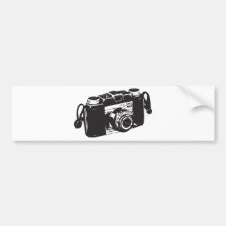 Old camera bumper sticker