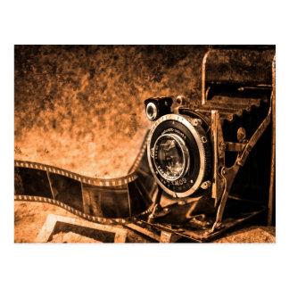 Old Camera Vintage Postcard